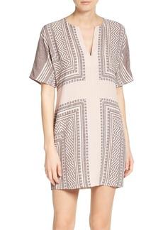 BCBGMAXAZRIA Scarf Print Dress