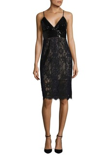 BCBG Max Azria BCBGMAXAZRIA Sequin and Lace Dress