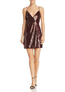 BCBGMAXAZRIA Sequin Mini Dress