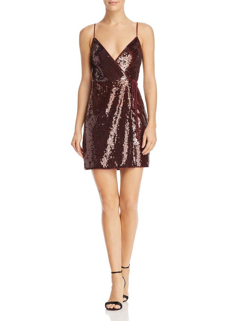dbfa51fa BCBG Max Azria BCBGMAXAZRIA Sequin Mini Dress Now $59.40