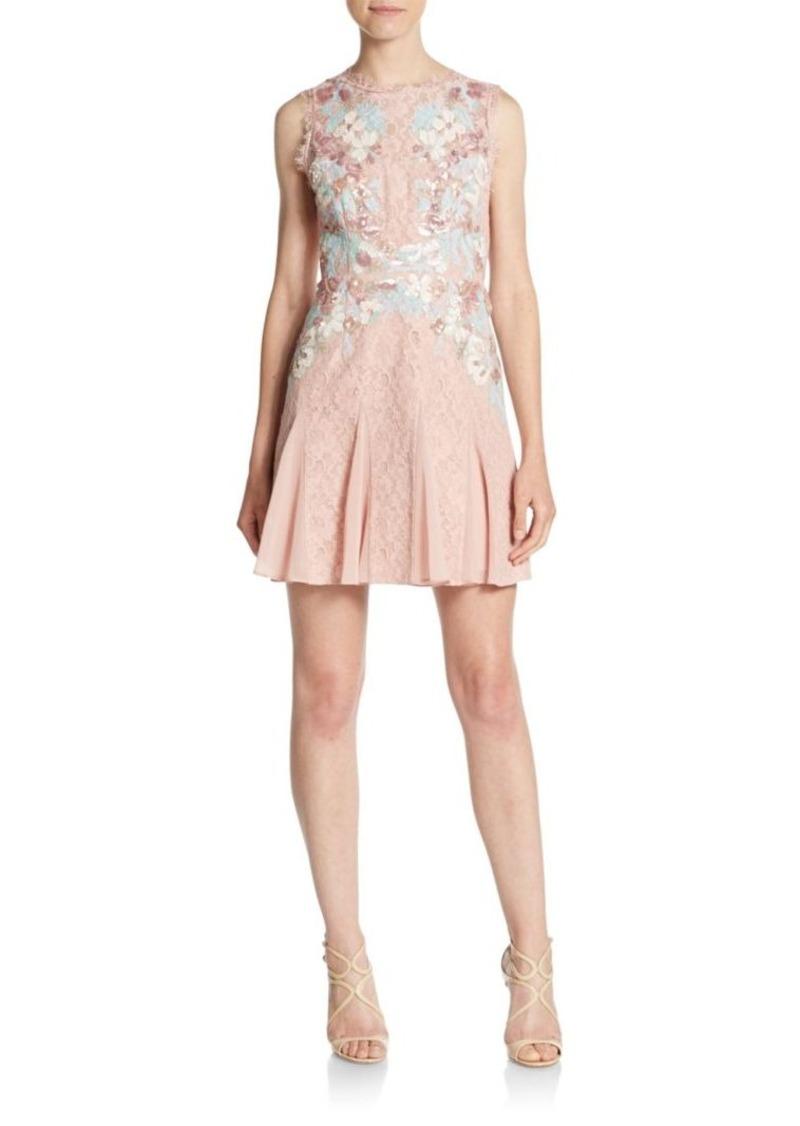 2f29d0b381e BCBG Max Azria BCBGMAXAZRIA Vanessa Lace Fit- -Flare Dress