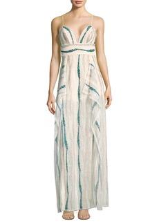 BCBG Max Azria BCBGMAXAZRIA Shimmer Evening Dress