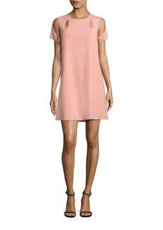 BCBGMAXAZRIA Shoulder Cutout Dress