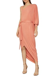 BCBG Max Azria BCBGMAXAZRIA Single-Sleeve Belted Dress