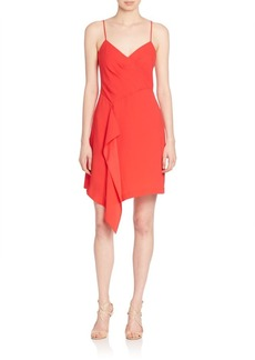 BCBGMAXAZRIA Sleeveless Asymmetric Dress