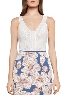 BCBG Max Azria BCBGMAXAZRIA Sleeveless Lace Bodysuit