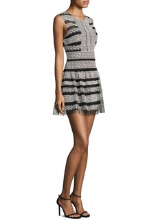 BCBG Max Azria Sleeveless Lace Dress