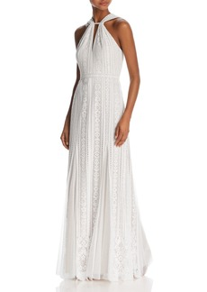 BCBG Max Azria BCBGMAXAZRIA Sleeveless Lace Gown