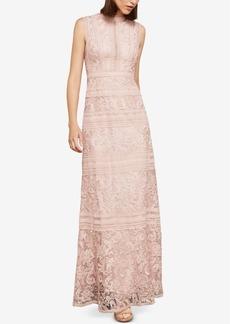 BCBG Max Azria Bcbgmaxazria Sleeveless Lace Maxi Dress