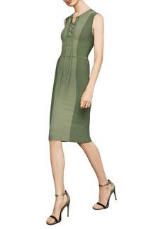 BCBG Max Azria BCBGMAXAZRIA Sleeveless Safari BodyCon Dress