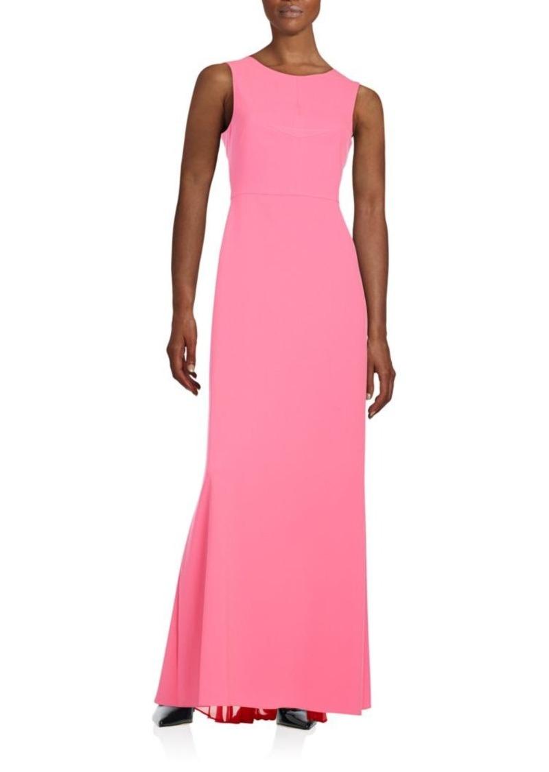 BCBG Max Azria BCBGMAXAZRIA Sleeveless V-Back Dress   Dresses