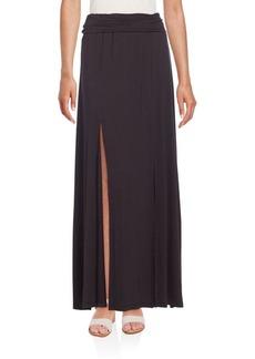 BCBG Max Azria BCBGMAXAZRIA Slip Jersey Maxi Skirt
