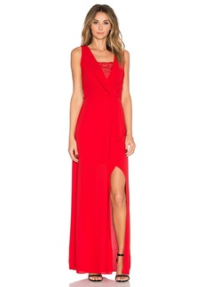 BCBGMAXAZRIA Slit Dress