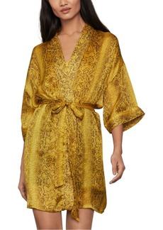 BCBG Max Azria Bcbgmaxazria Snake-Embossed Kimono