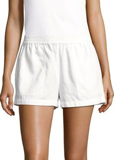 BCBG Max Azria BCBGMAXAZRIA Solid Four-Pocket Shorts