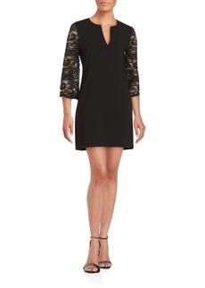 BCBG Max Azria BCBGMAXAZRIA Solid Lace Dress