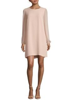 BCBGMAXAZRIA Solid Long Sleeve Dress