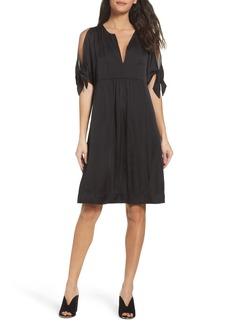 BCBGMAXAZRIA Split Sleeve Dress