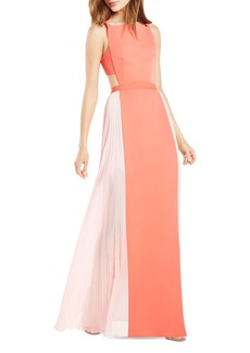 BCBG Max Azria BCBGMAXAZRIA Square Neck Color Block Gown - 100% Exclusive