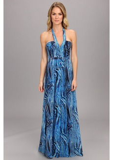 BCBGMAXAZRIA Starr Printed Gown
