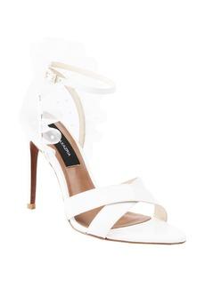 BCBG Max Azria BCBGMAXAZRIA Stella Ruffle Ankle Strap Sandal (Women)