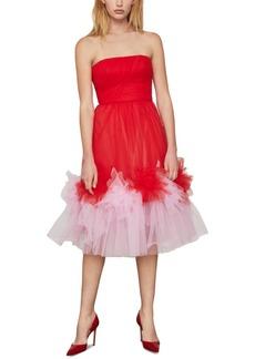 BCBG Max Azria Bcbgmaxazria Strapless Tulle Dress