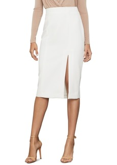BCBG Max Azria Bcbgmaxazria Stretch Crepe Pencil Skirt