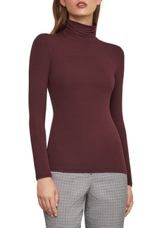 BCBG Max Azria BCBGMAXAZRIA Stretch Turtleneck Top