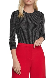 BCBG Max Azria BCBGMAXAZRIA Stripe Long-Sleeve Top