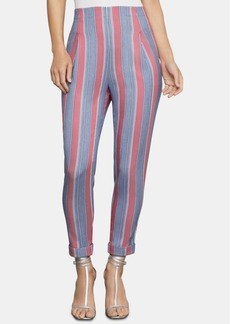 BCBG Max Azria Bcbgmaxazria Striped Ankle Pants