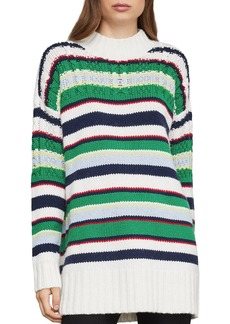BCBG Max Azria BCBGMAXAZRIA Striped Boyfriend Sweater