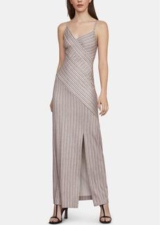 37c8b2f2d4c0 BCBG Max Azria Metallic Striped Handkerchief Dress   Dresses