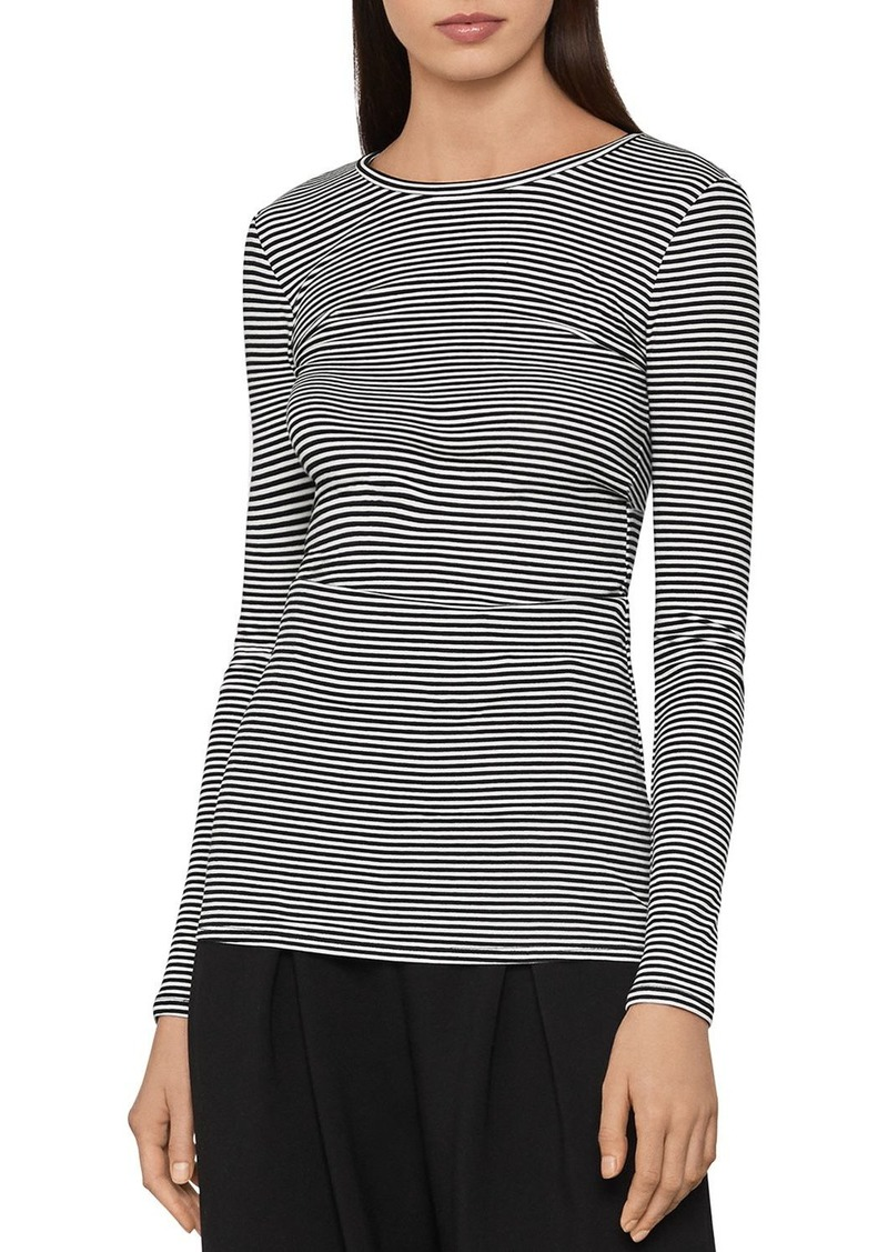 BCBG Max Azria BCBGMAXAZRIA Striped Jersey Top
