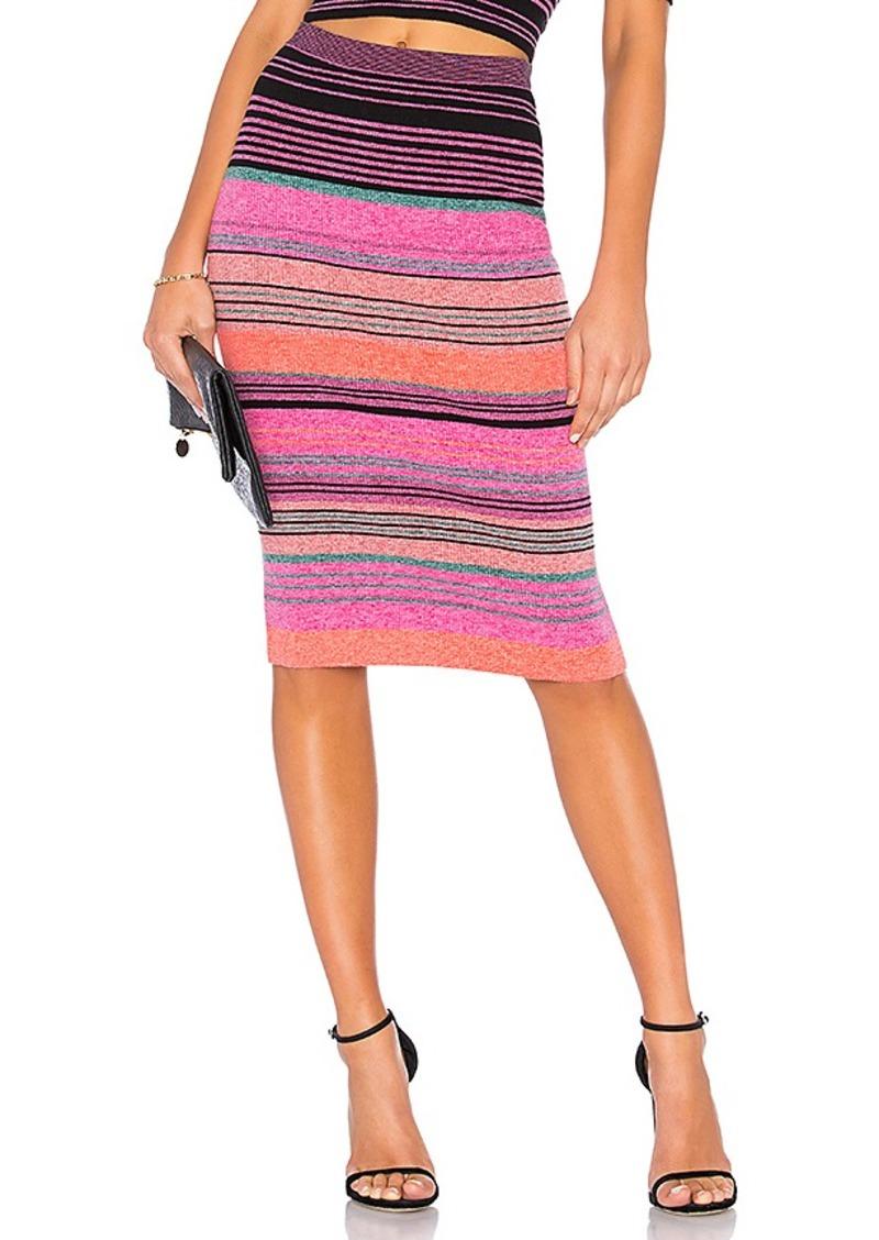 75e24fd7d BCBG Max Azria BCBGMAXAZRIA Striped Knit Pencil Skirt   Skirts