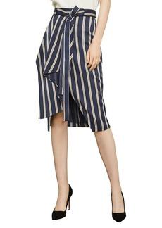 BCBG Max Azria BCBGMAXAZRIA Striped Pencil Skirt