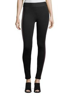 BCBG Max Azria BCBGMAXAZRIA Striped Ponte Leggings