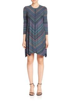 BCBGMAXAZRIA Striped Shift Dress