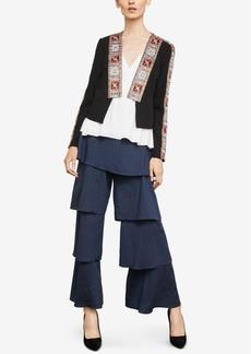 BCBG Max Azria Bcbgmaxazria Studded Embroidered Jacket