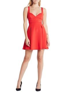 BCBGMAXAZRIA Sweetheart Babydoll Sleeveless Dress