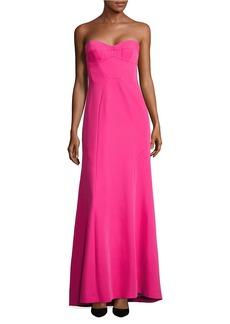 BCBGMAXAZRIA Sweetheart Strapless Gown