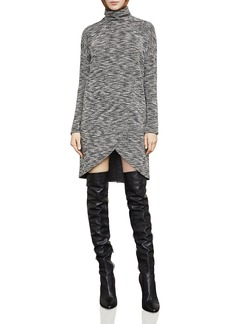 BCBGMAXAZRIA Talley Space-Dye Turtleneck Dress