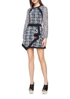 BCBGMAXAZRIA Tallulah Paisley Printed Dress