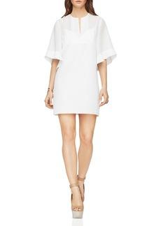 BCBGMAXAZRIA Tati Ruffle Sleeve Dress