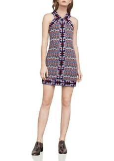 BCBGMAXAZRIA Tesa Jacquard Dress