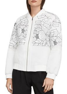 BCBG Max Azria BCBGMAXAZRIA Tessa Embroidered Bomber Jacket
