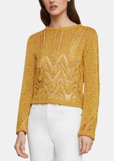 BCBG Max Azria Bcbgmaxazria Textured Chevron Sweater