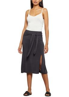 BCBG Max Azria Bcbgmaxazria Tie-Front Midi Skirt