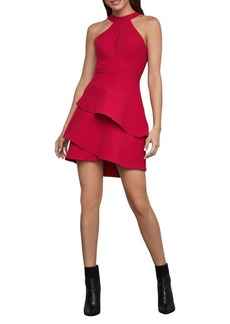 BCBG Max Azria BCBGMAXAZRIA Tiered Halter Dress