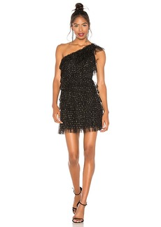 BCBG Max Azria BCBGMAXAZRIA Tiered Tulle Dress