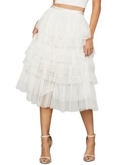 BCBG Max Azria Bcbgmaxazria Tiered Tulle Skirt